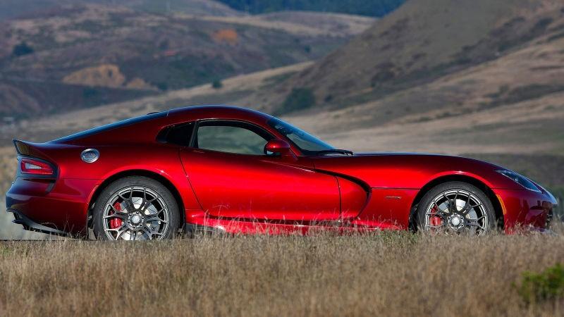 Dodge Viper Vinyl Red