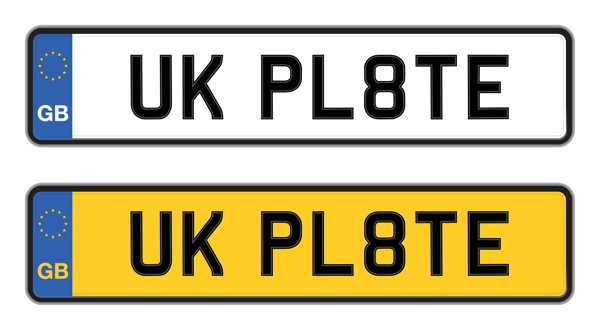 UK number plate format
