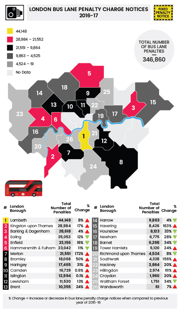 london-bus-lane-penalty-charge-notices-map