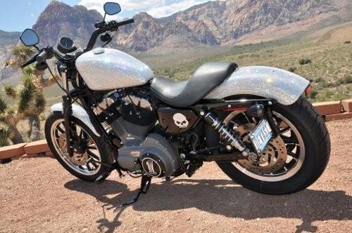 Swarovski Crystal Harley Davidson