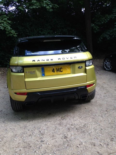 range-rover-personalised-number-plate